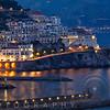 Amalfi Night Scenic, Campania, Italy
