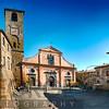 Main Square of Civita Di Bagnoregio, Italy
