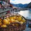 Basket Full of Lemon and Garlic, Vernazza, Liguria, Italy