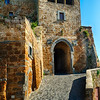 City Gate of Civita di Bagnoregio, Italy