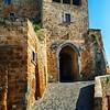 City Gate of Civita di Bagnoregio, Italy