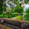Old Lock on the Ninfa Creek, Latina, Italy
