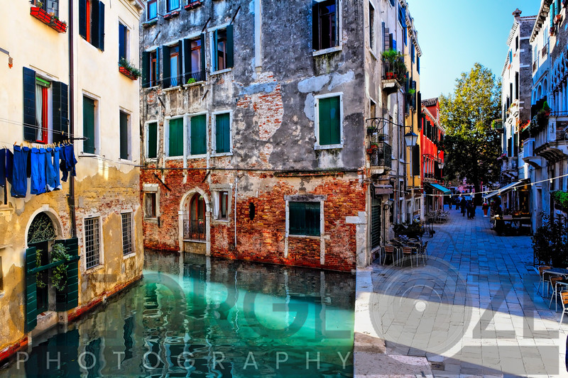 Morning Light in Venice, Calle Del Spezier, Santa Croce, Venice, Italy