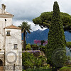 View of Villa Rufulo and Garden, Ravello, Campania, Italy