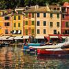 Portofino Harbor Scene, Liguria, Italy