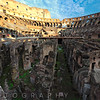Low Angle View of  the Colosseum Arena, , Rome, Lazio, Italy