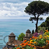 High Angle View from Villa Rufulo, Ravello, Campania, Italy