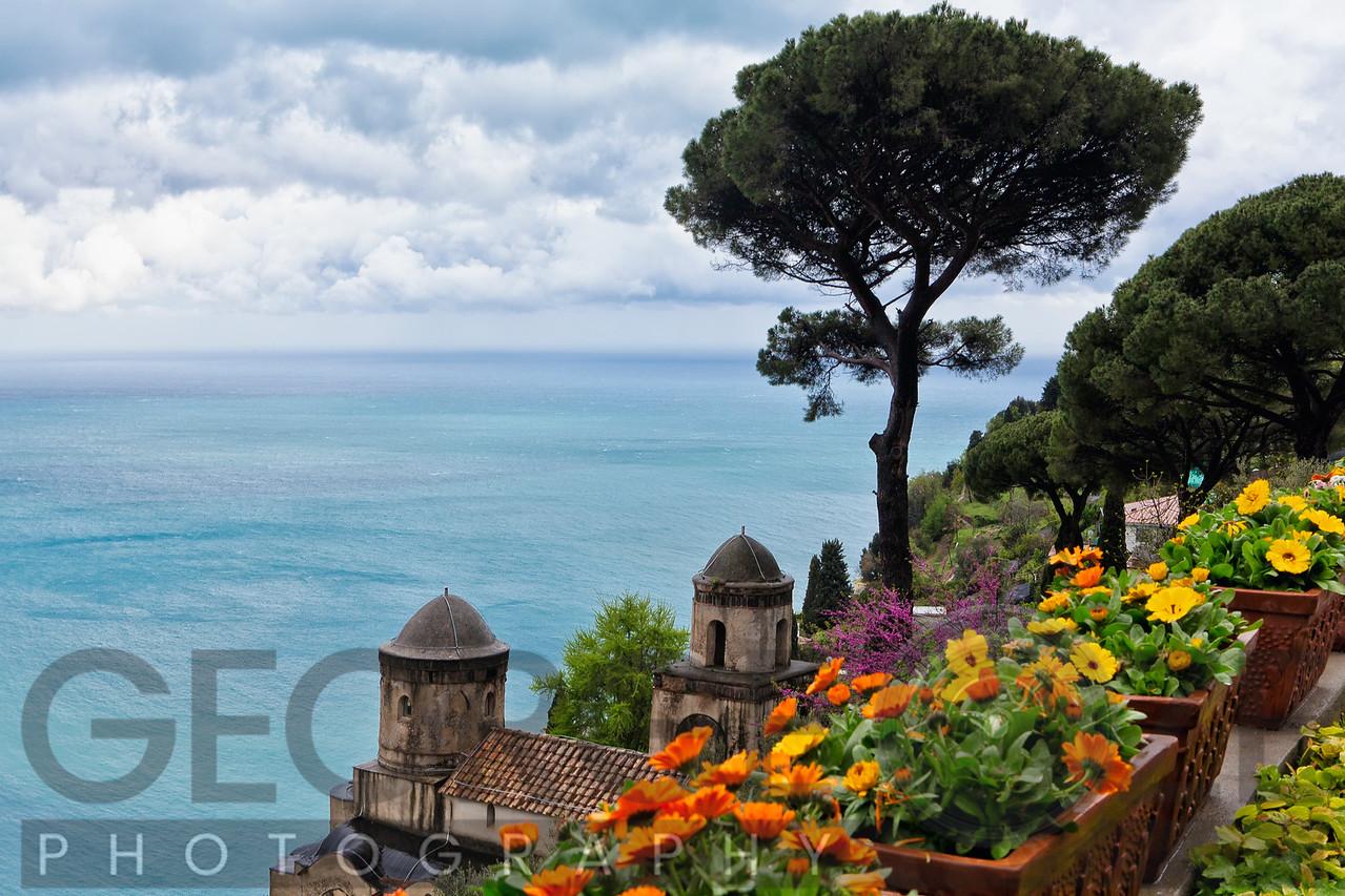 High Angle View from Villa Rufulo, Ravello, Campania, Italy