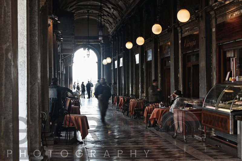 Old Cafehouse, Saint Mark's Square, Venice, Veneto Italy