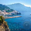 Amalfi Town on the Mediterranean Sea, Italy