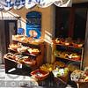 Dispaly of a Small Outdoor Market, Riomaggiore, Cinque Terre, Liguria, Italy