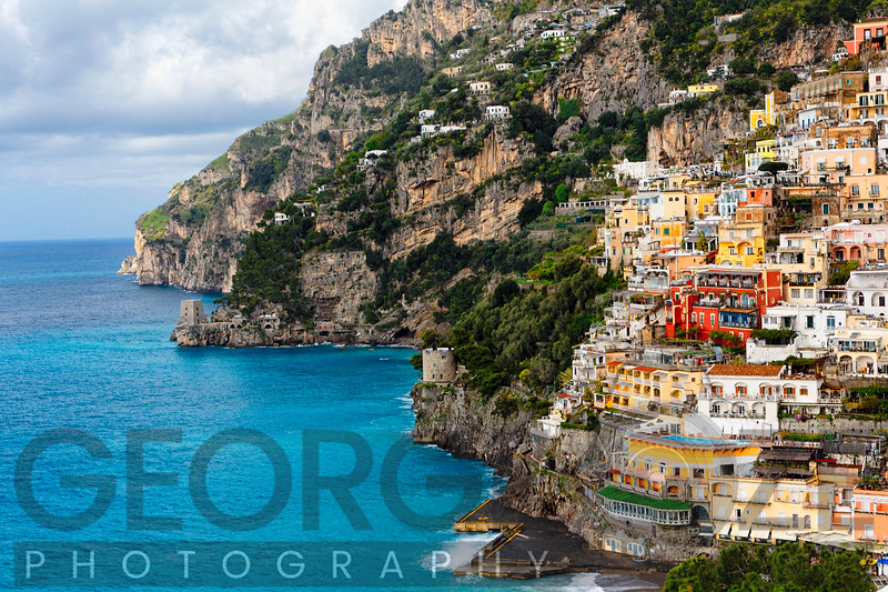 Coastal Scenic Town of Positano