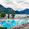 Pool View Along Lake Como, Bellagio, Italy