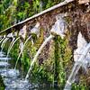 Faces of the Hundred Fountains, Villa d'Este, Tivoli, Italy