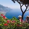 Scenic Vista of the Amalfi Coast at Ravello, Campania, Italy