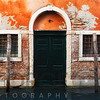 Sinking House in Venice on Calle Fondamenta Magio, Veneto, Italy