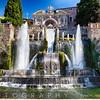 Neptune Water Fountain, Villa d E'ste, Italy