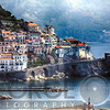 High Angle View of a Coastal Town, Amalfi, Campania, Italy