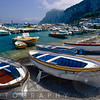 Close Up View of Small Boats on the Shore, Marina Grande, Capri, Italy