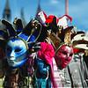 Venetian Masks for Sale on St Mark's Square, Venice, Italy