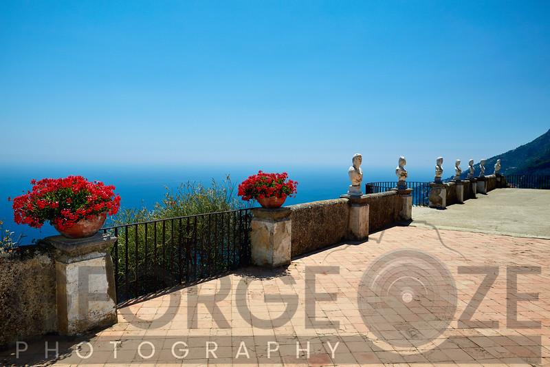 Terrace of Infinity, Ravello, Italy