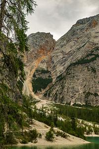 Start of climb to Refugio Biella 3661