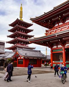Sensoji Temple area; Asakusa