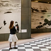 Entry to Tokyo Photographic Art Museum--iconic photos etched in the marble walls.