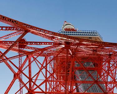 Base of Tokyo Tower