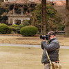 Andy shooting at Shinjuku Gyoen National Garden