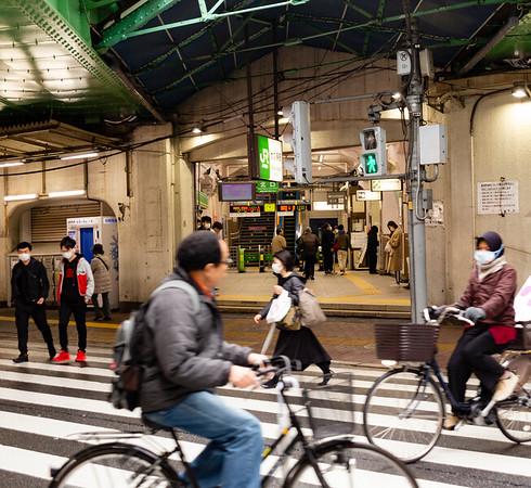 Shin-Okubo rail station.