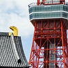 Details of Tokyo Tower and Zojoji Temple.