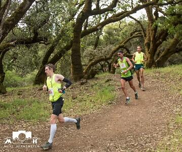 Lake Sonoma for iRunFar social media post