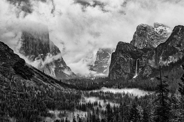 Yosemite Valley Winter Storm