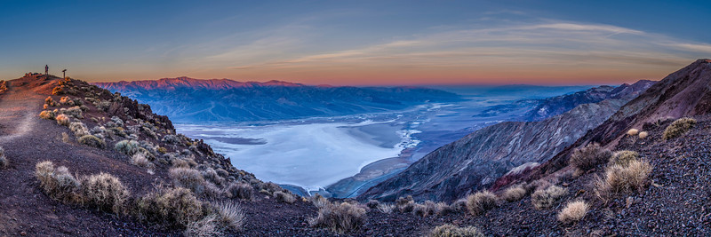 Morning Light Over Death Valley