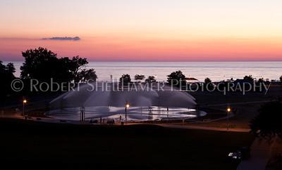 Fountain at Silver Beach