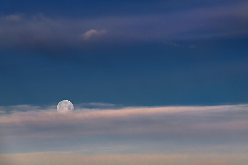 Moon on a Pillow