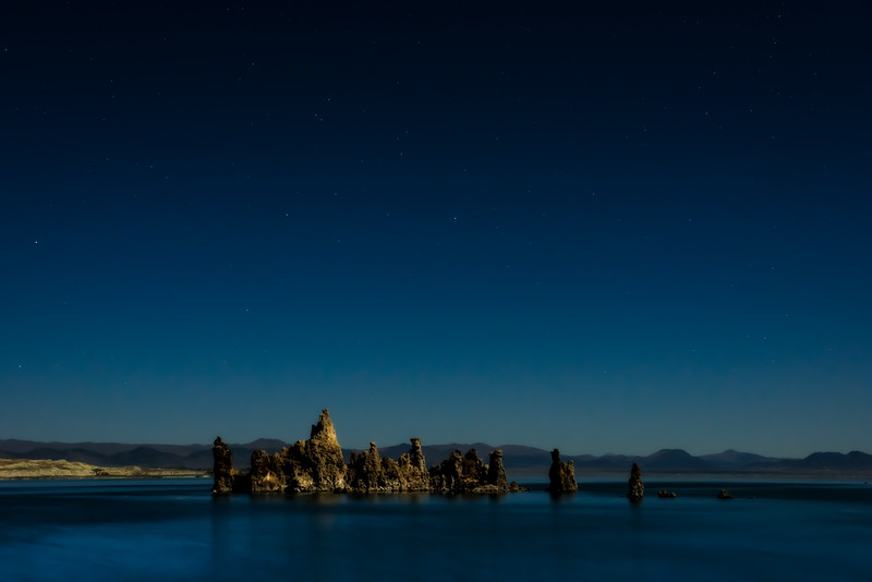 Moonlit Mono<br /> Mono Lake, CA