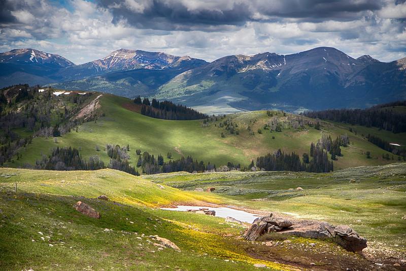 Snowcrest Mountains