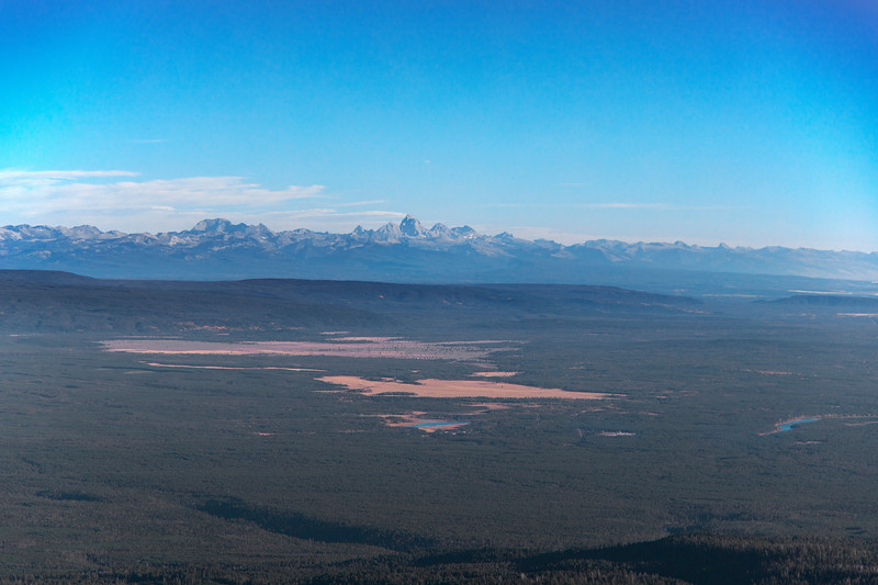 Teton Mountains from Sawtelle Peak, Idaho