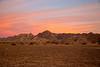 Gila Mountains at Sunrise, near Yuma, AZ