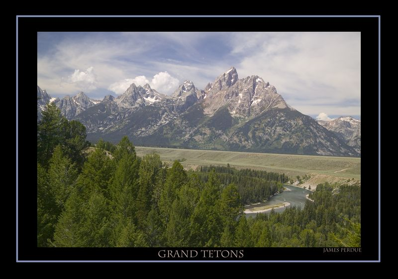 Grand Teton and Snake River.