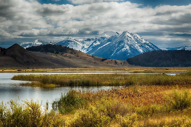 Mt. Neimesis from Widgeon Pond, MT