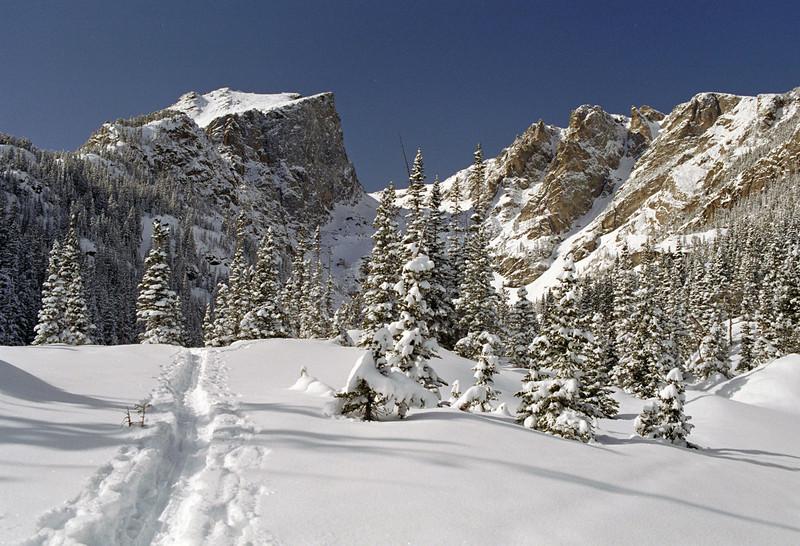 Hallet Peak in Rocky Mtn Nat'l Park