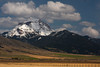 The Sphinx Mountain along the Madison Range in early May, Montana.