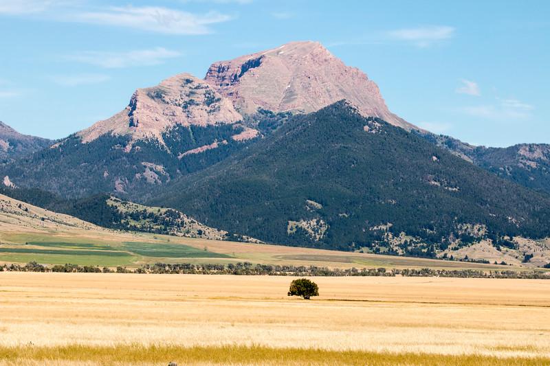 Sphinx Mountain in Madison Range, MT