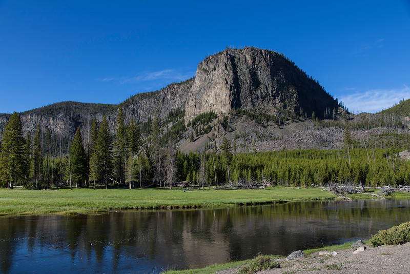 Mt Haynes in Yellowstone