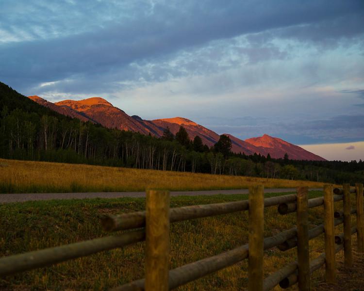 East Centennial Mountains first light