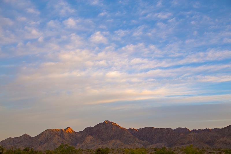 Gila Mountains near Yuma, AZ