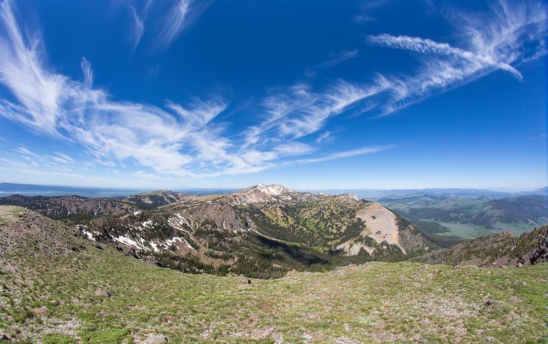 Mt Jefferson from Sawtelle Peak